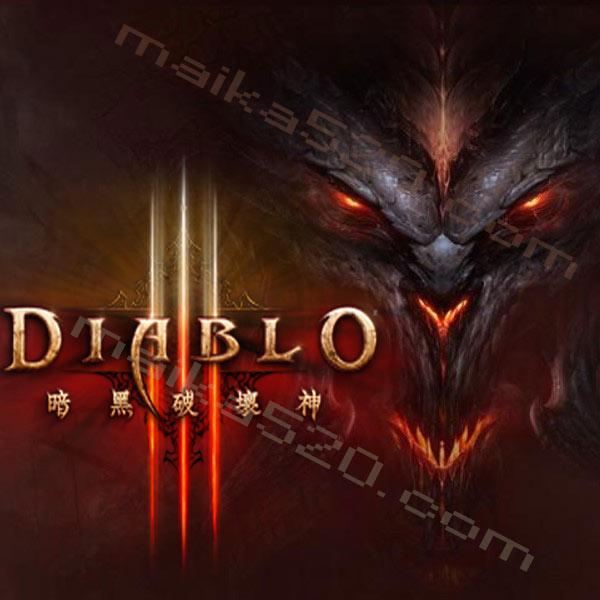 《暗黑破坏神3》全球 标准版CDKey激活码(本体)